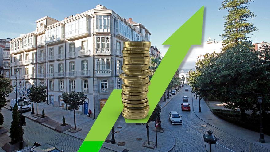 El precio de la vivienda en Galicia sube hasta máximos de los últimos ocho años