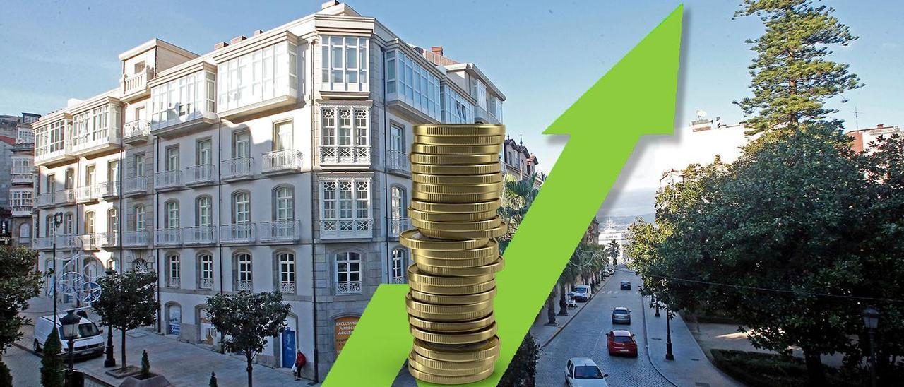 El precio de las viviendas se dispara en Galicia