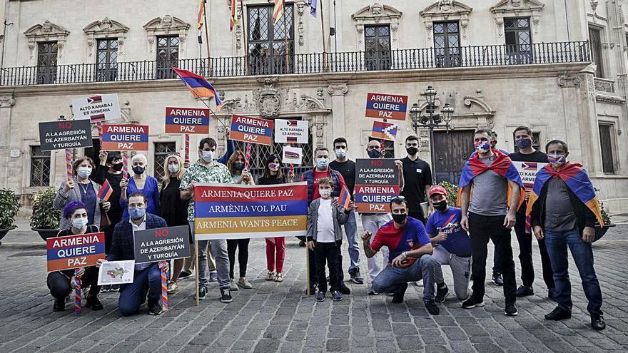 Piden desde Palma el alto al fuego en Armenia