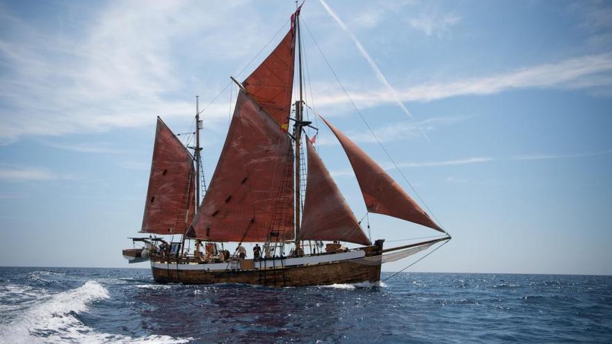 Ibiza recibirá al barco científico Toftevaag que recorre el Mediterráneo