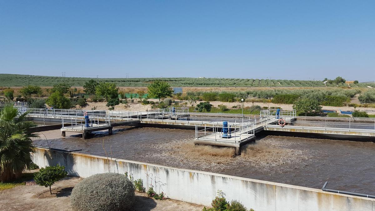 La Estación Depuradora de Aguas Residuales de Montilla se sitúa en el pago de Tintín.