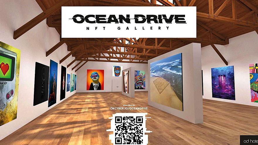 Ocean Drive Ibiza tendrá su propia colección de arte digital NFT