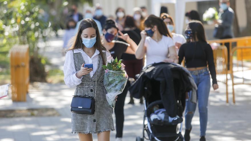 La Comunitat Valenciana alcanza el máximo de toda la pandemia con 2.327 nuevos casos