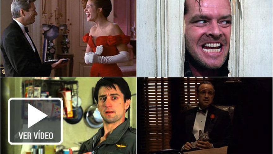 Siete improvisaciones que pasaron a la historia del cine