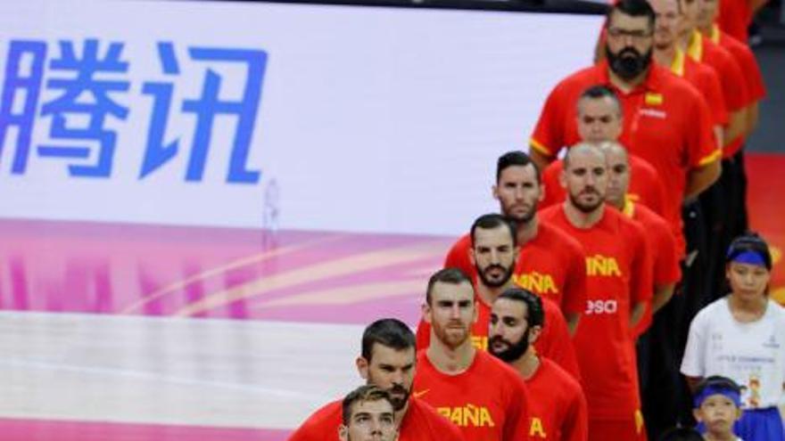 España derrota a Puerto Rico y accede a la segunda fase