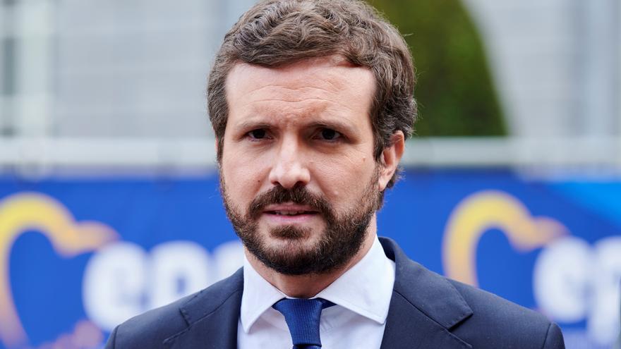 "Casado advierte desde Bruselas: ""Si se da carta blanca al independentismo en España será un problema para Europa"""