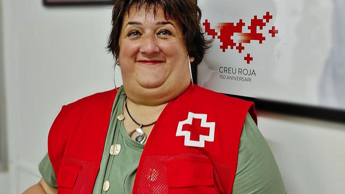 Anna Cortés orgullosa, satisfeta de la seva vida: Creu Roja Figueres