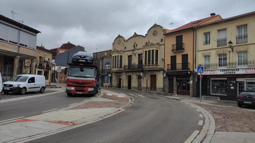 Marcha en Alcañices para exigir la conversión de la N-122 en autovía