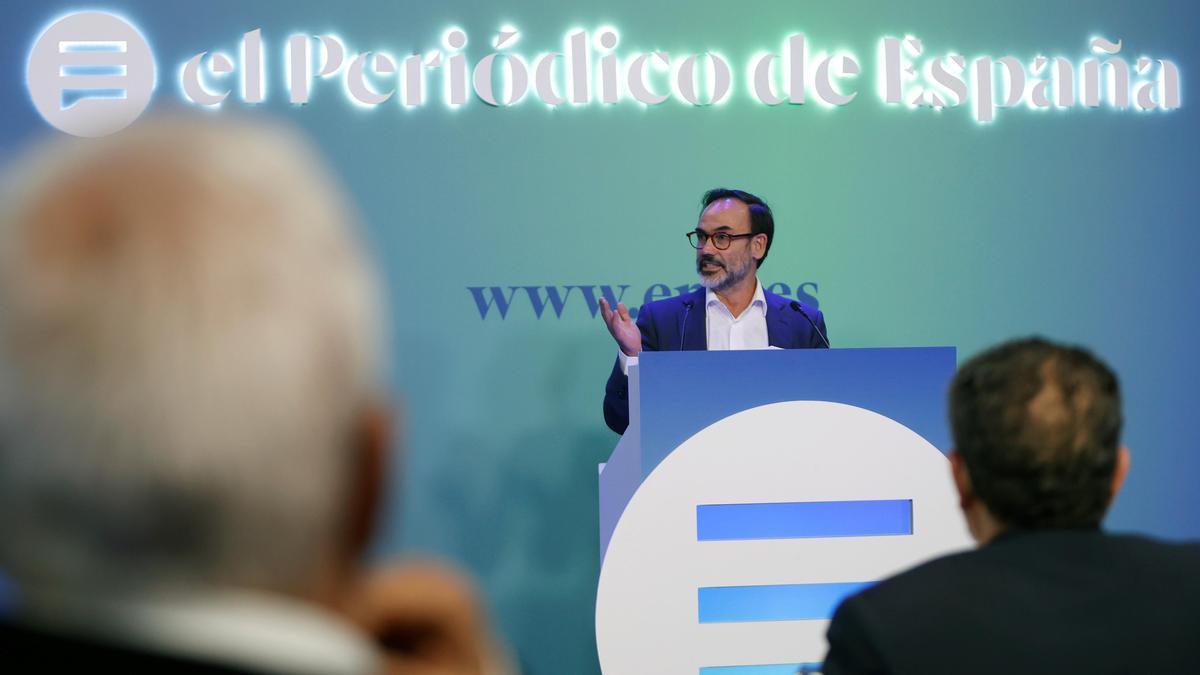 Fernando Garea, director de El Periódico de España.