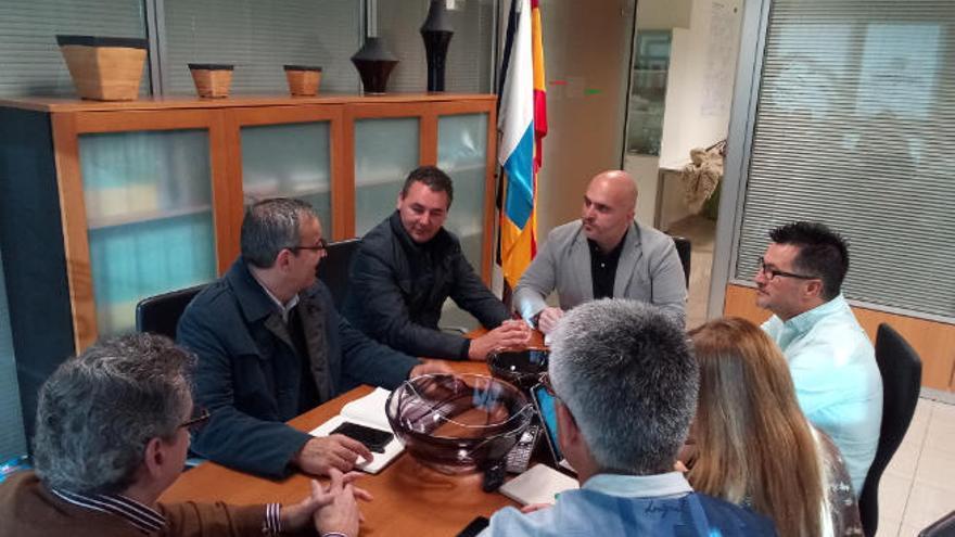 Arico plantea a Gesplan acelerar la aprobación del Plan General