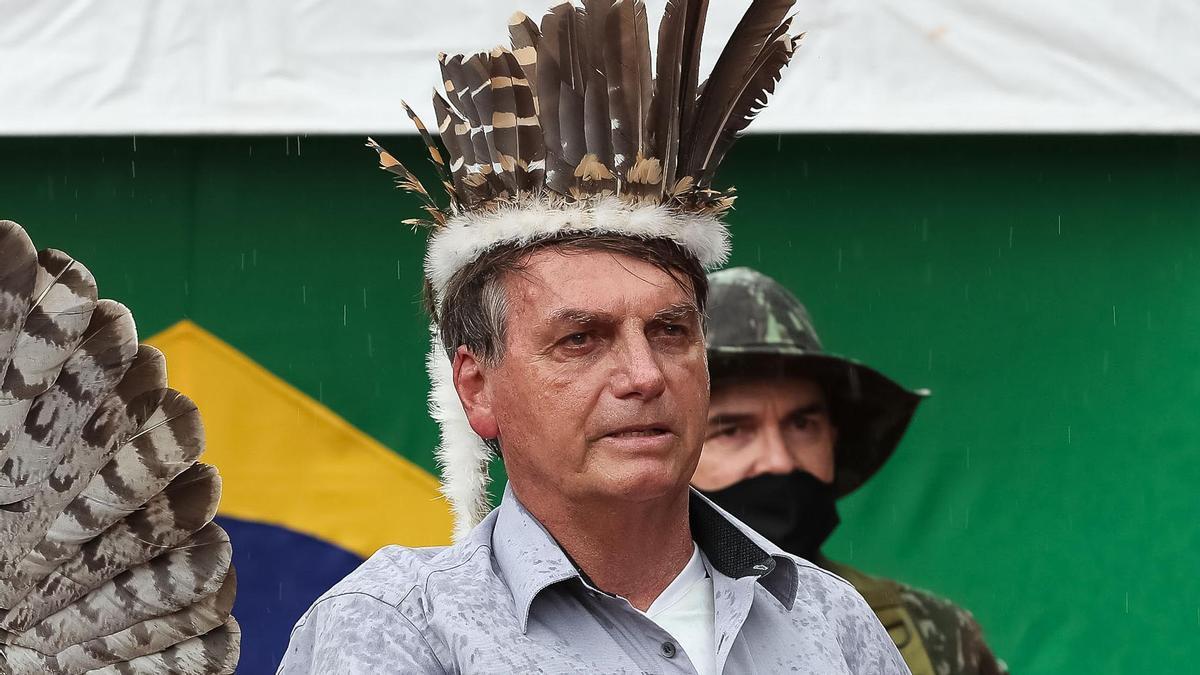 El presidente de Brasil, Jair Bolsonaro..