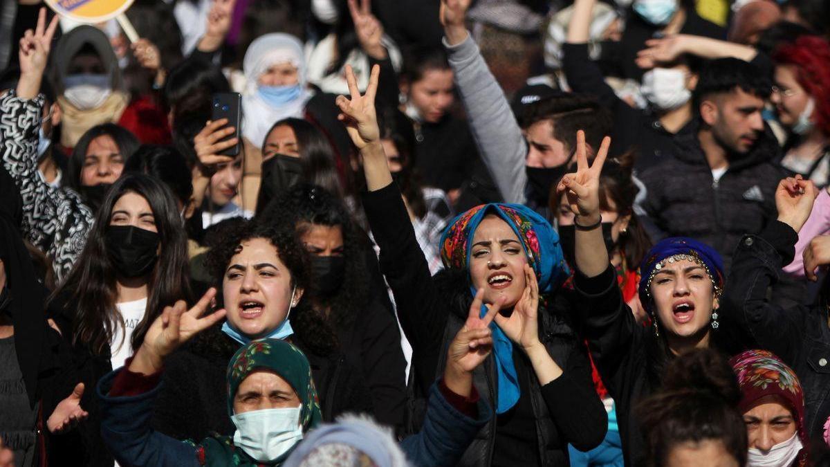 El grito de las mujeres en Turquía: Tenemos miedo de ser las siguientes