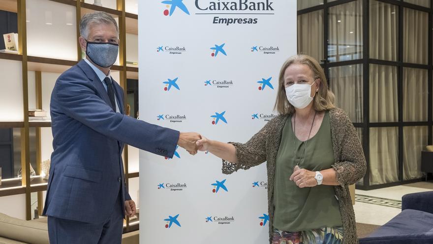 """Araceli Císcar, ganadora de los """"Premios Mujer Empresaria CaixaBank 2021"""" en la Comunitat Valenciana"""