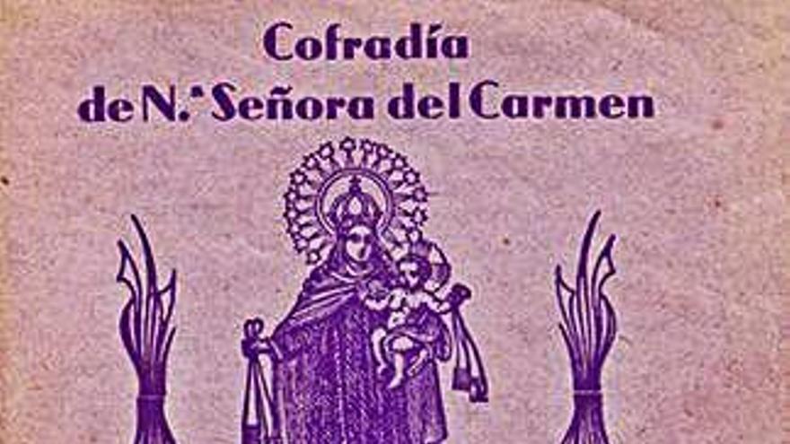 Libro de la cofradía de 1934.