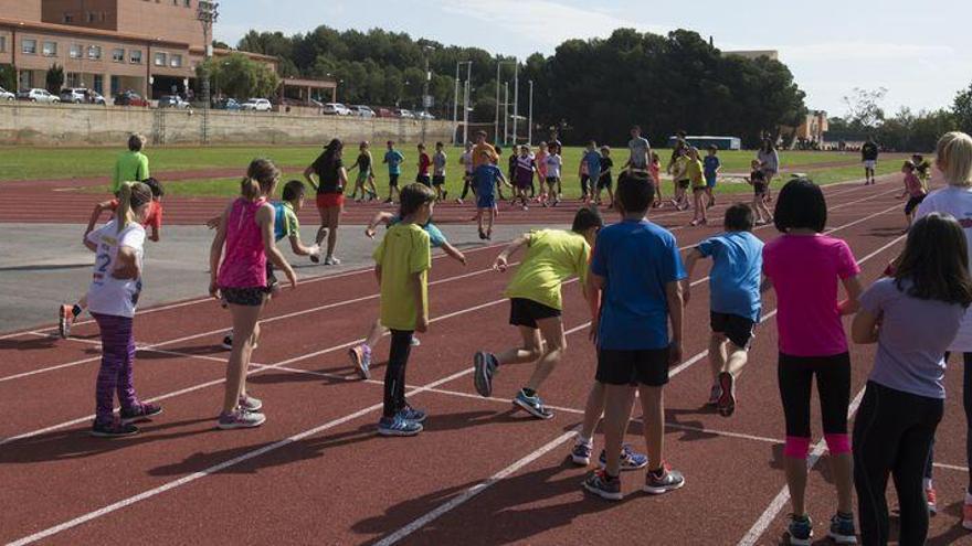 Penyeta Roja acoge las pruebas deportivas de acceso al próximo curso escolar