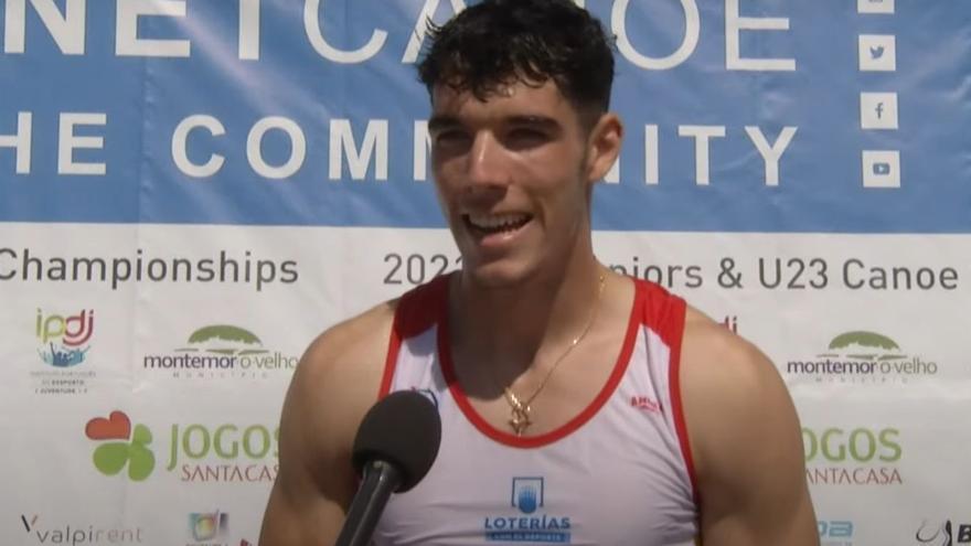 Álex Graneri se proclama campeón del mundo júnior de K1 1000
