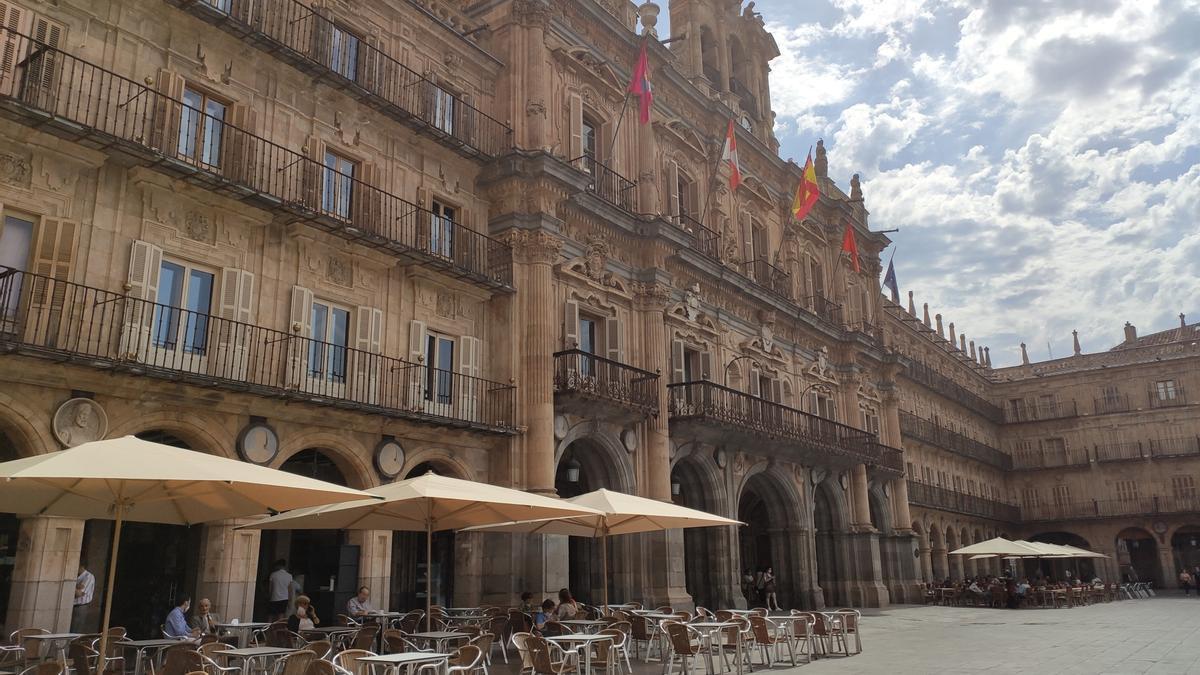 La Plaza Mayor de Salamanca en una imagen de archivo.