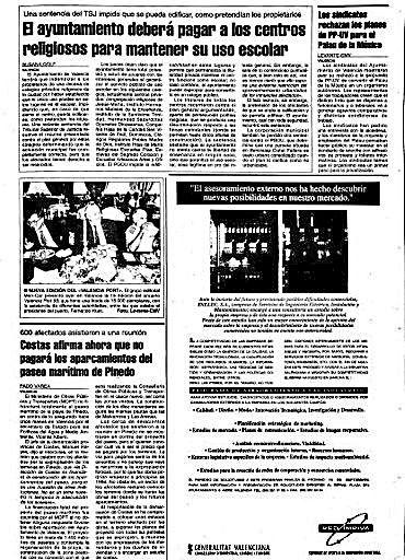 1993.- Sentencia del TSJ que da la razón a los diez centros privados y reconoce su derecho a ser indemnizados.
