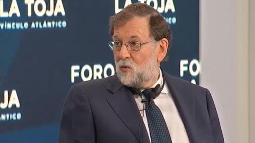 """Rajoy: """"Hubo una mala valoración del riesgo que entrañaba la pandemia"""""""