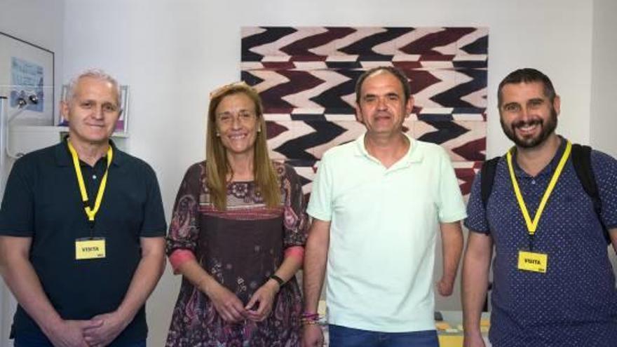 Folgado recibe a alcaldes de la Costera