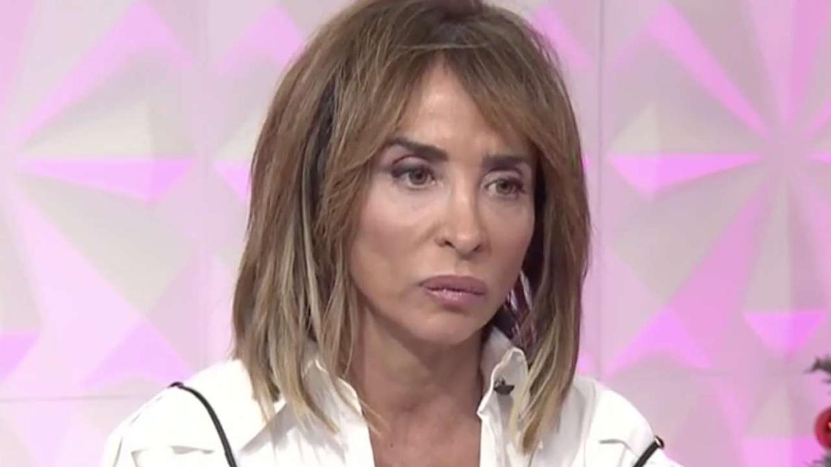 María Patiño, presentadora de 'Socialité' y colaboradora de 'Sálvame'.