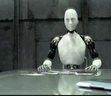 Fotograma de la película 'Yo robot' (2004), de Alex Proyas.