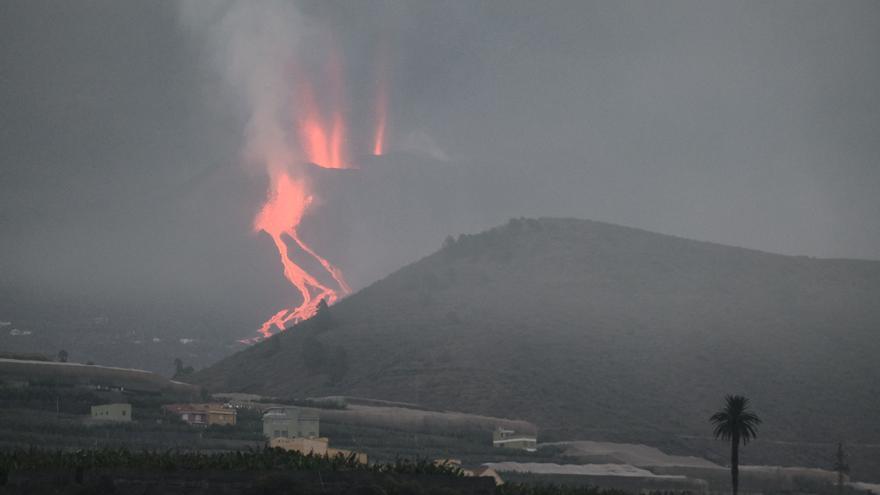 La lava del volcán de La Palma cubre 258 hectáreas y destruye unas 700 edificaciones
