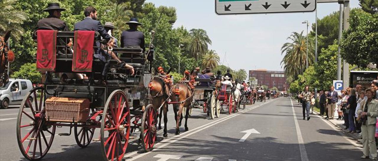 Historia del carruaje en Córdoba