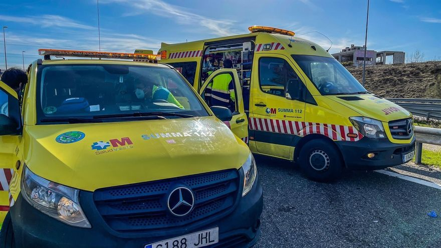 Muere un hombre en Madrid al ser atropellado tras quedarse sin gasolina en la carretera