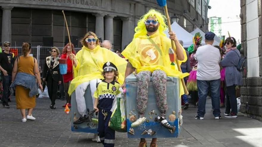 El Juzgado ordena trasladar el carnaval de día de Vegueta a un lugar donde no moleste a los vecinos