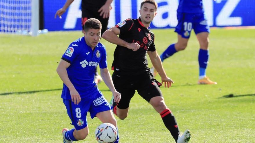 Isak da la victoria a la Real Sociedad en Getafe