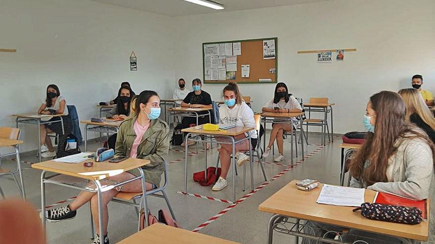 Los 21 alumnos de EBAU en el IES de Puebla de Sanabria