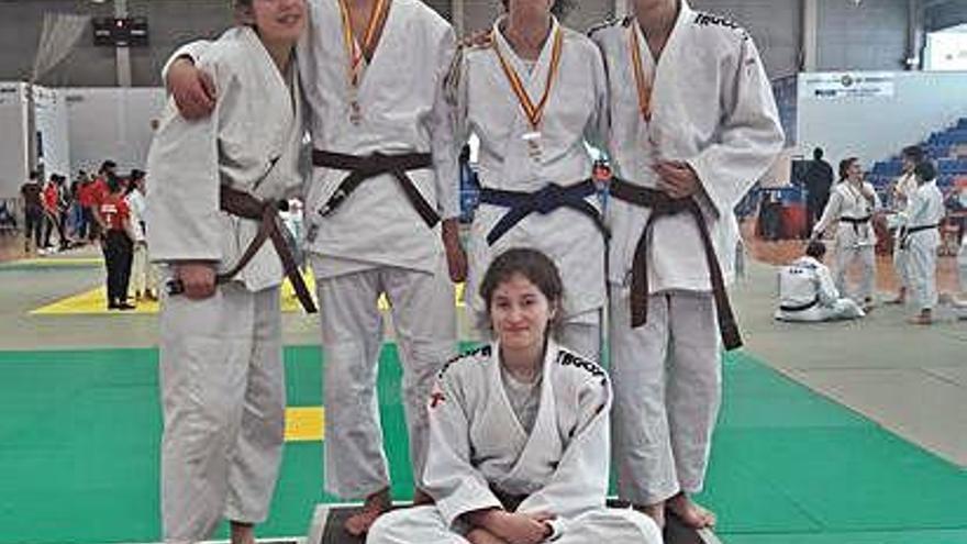 Siete metales para los zamoranos en el torneo celebrado en Valladolid