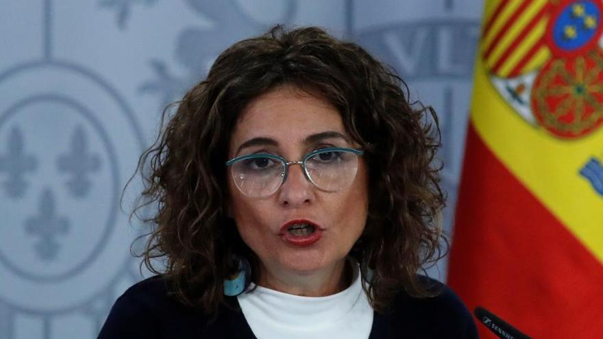 """Montero ve """"muy grave"""" el lenguaje """"guerracivilista"""" de Vox y el """"seguidismo"""" del PP"""