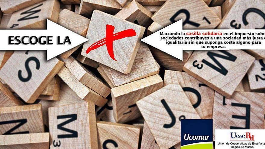 UCOMUR y UCOERM animan a sus asociados a marcar la 'x' solidaria