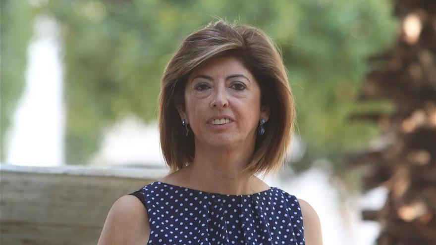 Lola Baena, pregonera de la Hermandad de Pasión de Córdoba
