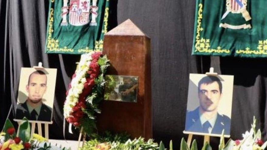 Armengol recuerda a los dos guardias civiles asesinados por ETA en 2009 en Palmanova