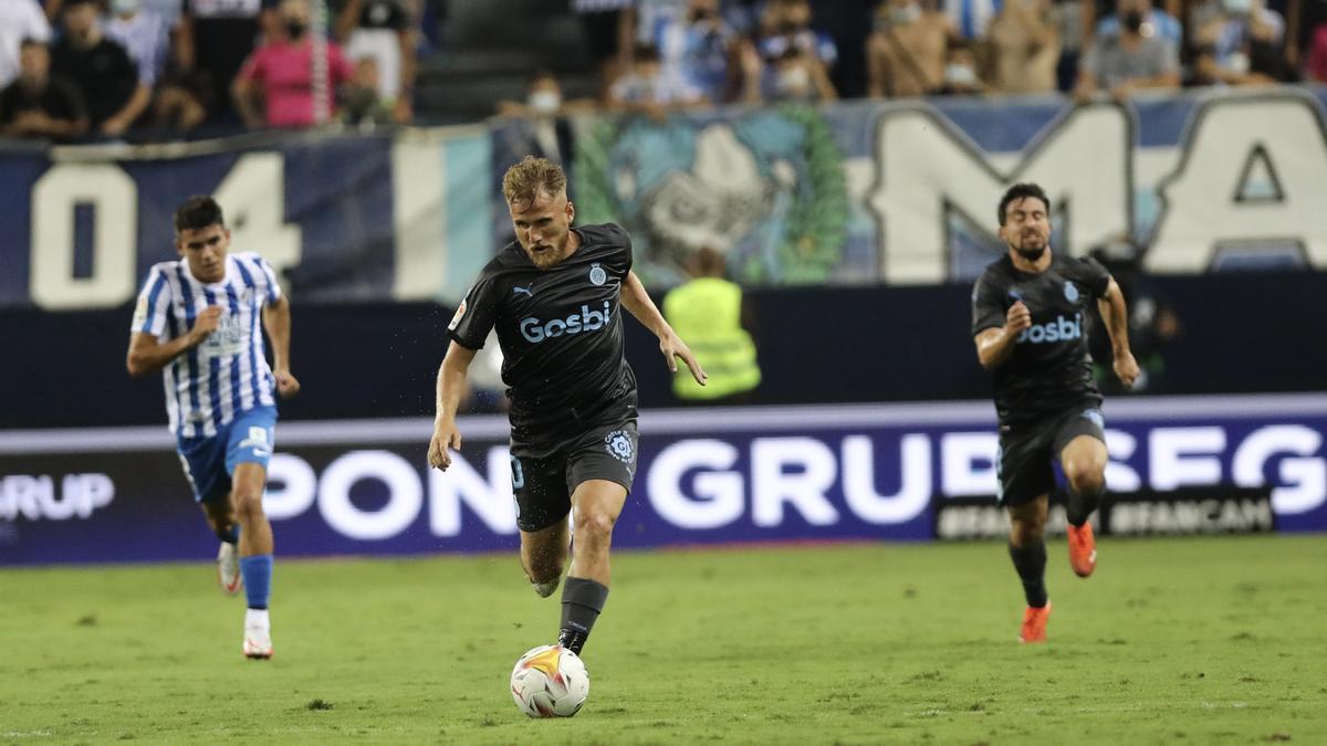 Màlaga - Girona FC, en imatges