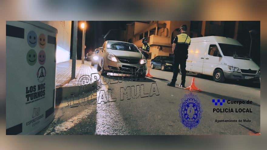 Policía Local realiza el primer control de alcoholemia dentro de la campaña Noc-turnos
