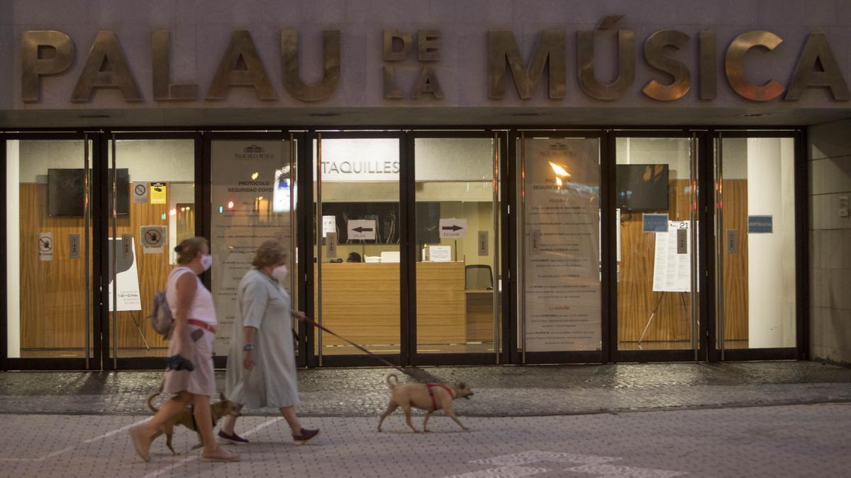 El Palau de la Música ya está adscrito al organismo municipal que le corresponde.