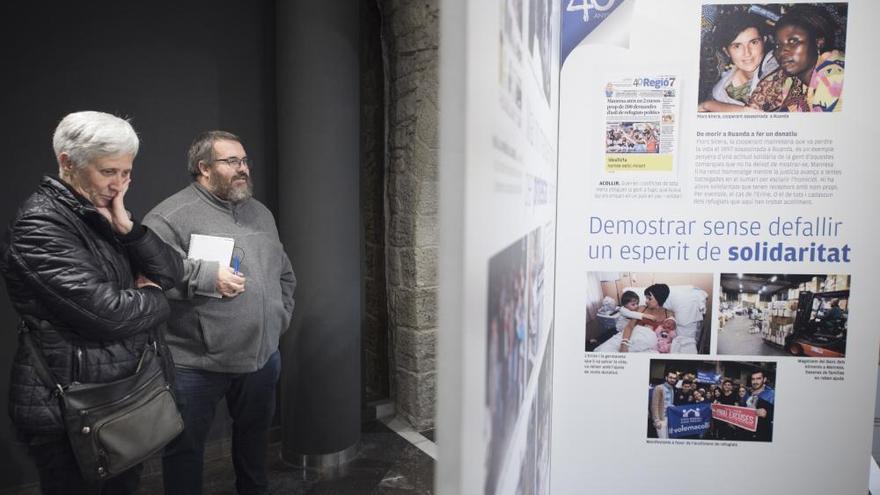 Regió7 exhibeix a Manresa 40 anys de compromís amb la Catalunya Central
