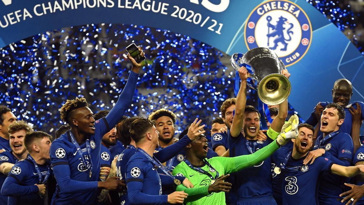 El Chelsea es el último campeón de la Champions League.