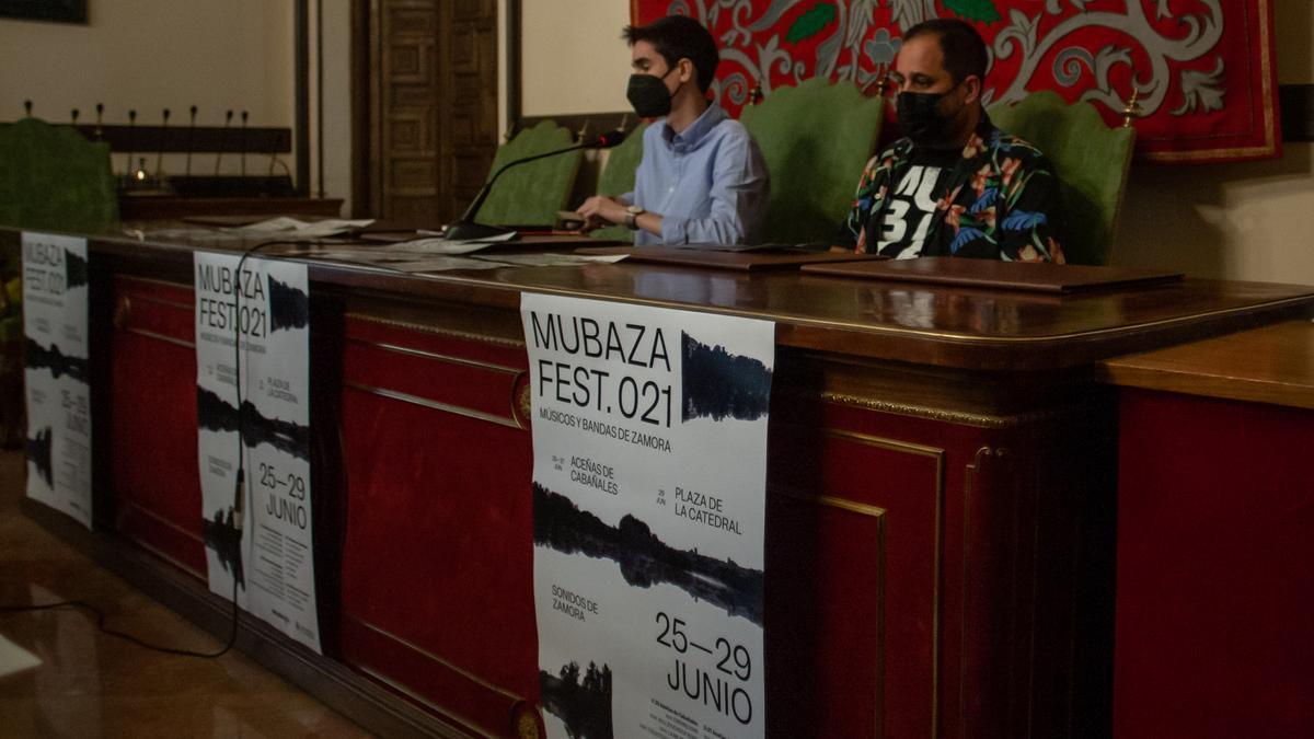 Presentación del Mubaza Fest 021 en el Ayuntamiento