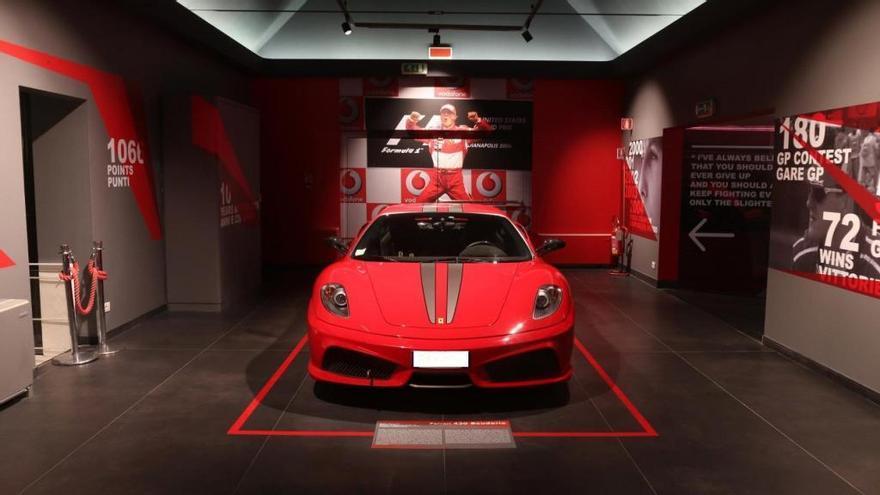 Michael 50, la exposición del Museo Ferrari dedicada a Schumacher