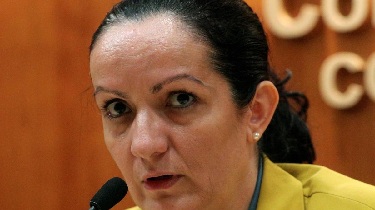 La exdirectora de Salud Pública de Madrid, Yolanda Fuentes.