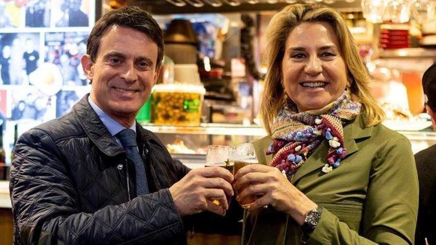 Manuel Valls y su novia se casan este sábado en Menorca