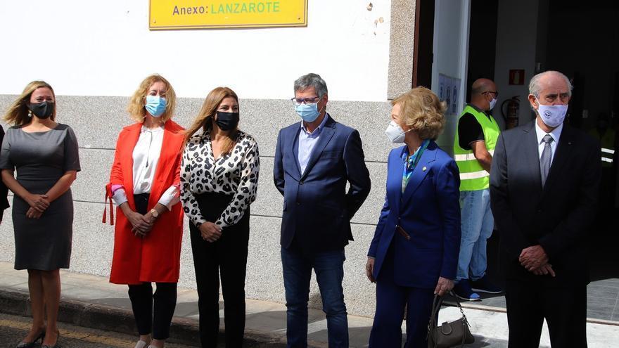 Visita de la Reina Sofía al Banco de Alimentos de Arrecife
