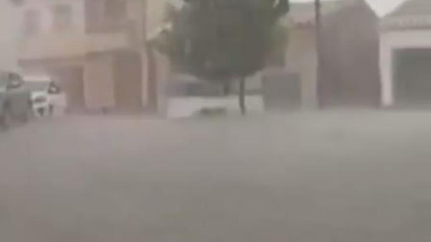 Tiempo en Murcia: Brutal tormenta con granizo esta tarde en Moratalla