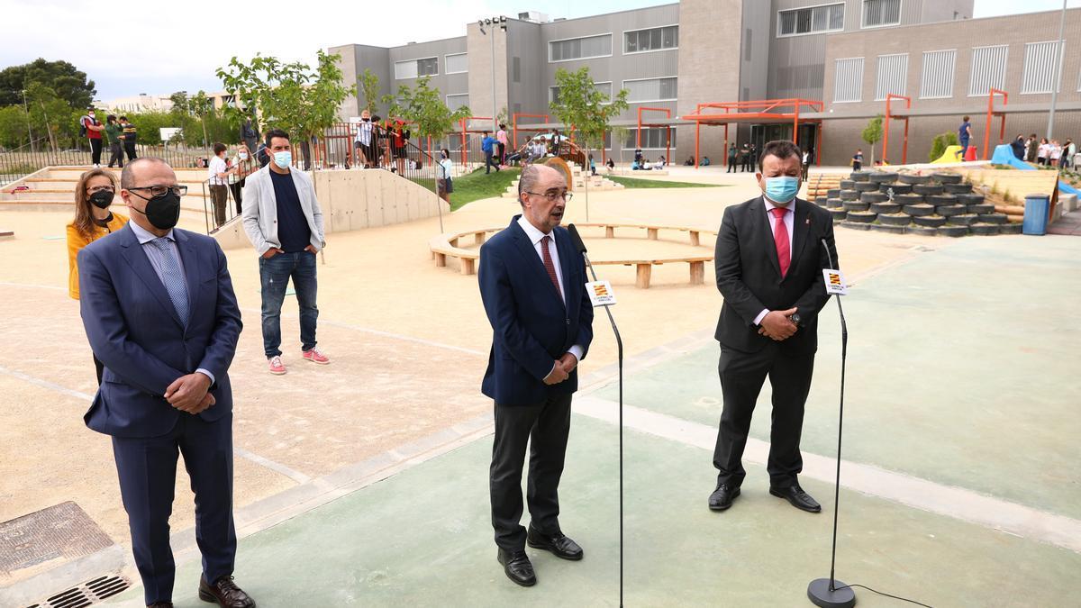 El presidente de Aragón, Javier Lambán, ha realizado las declaraciones en Zuera.
