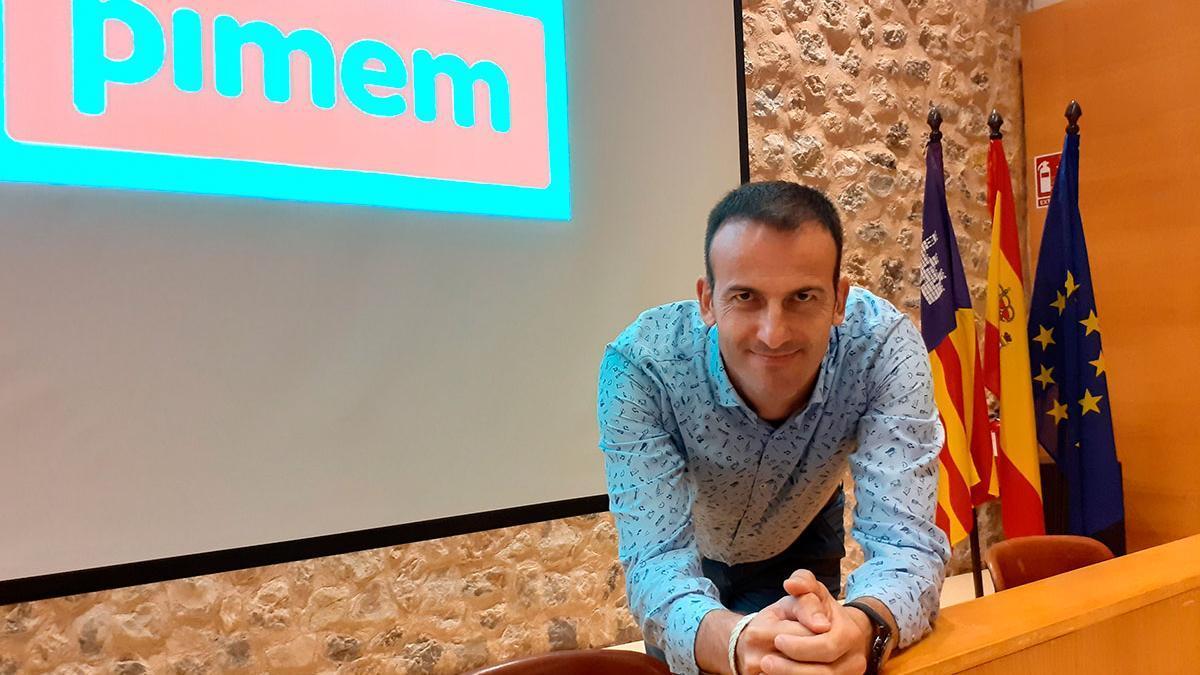 El president de la Federaciò de la Petita i Mitjana Empresa de Mallorca (PIMEM), Jordi Mora.